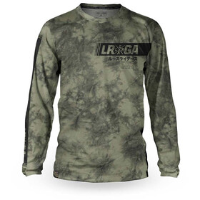 Loose Riders C/S Cult of Shred LS Jersey Men, tie dye army